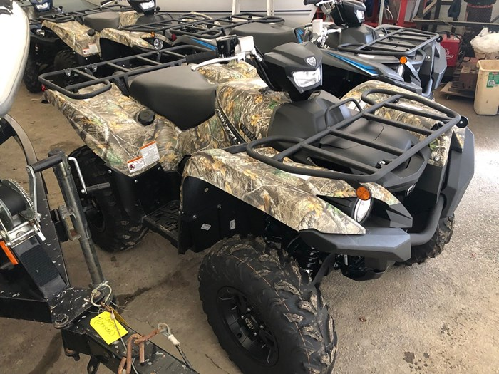 2019 Yamaha Grizzly 700 EPS Photo 1 of 8