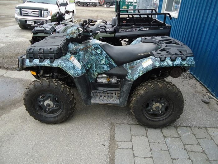 2009 Polaris Sportsman 550 EPS Camo Photo 5 of 5