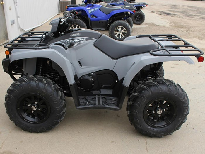 2018 Yamaha Kodiak 450 EPS Gray (aluminum mag wheels Photo 5 of 9