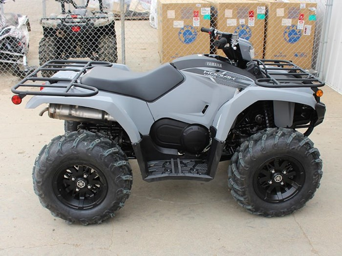 2018 Yamaha Kodiak 450 EPS Gray (aluminum mag wheels Photo 8 of 9
