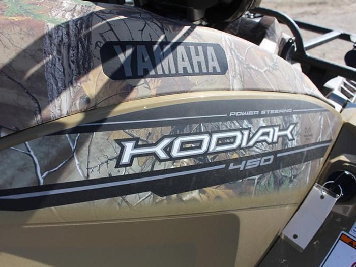 2018 Yamaha Kodiak 450 EPS Beige with camo graphics Photo 10 of 10