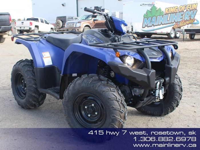 2019 Yamaha Kodiak 450 EPS Photo 1 of 10