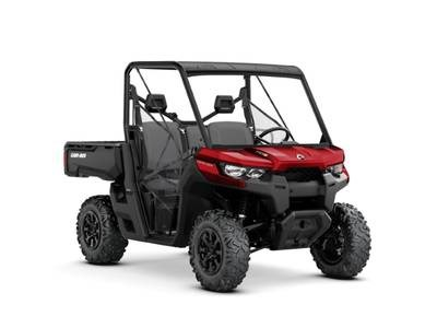 2019 Can-Am Defender DPS™ HD8 Intense Red Photo 1 sur 1