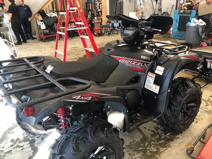 2019 Yamaha Grizzly 700 EPS  LE Photo 5 of 9