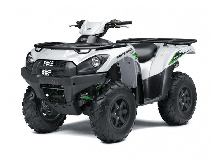2018 Kawasaki Brute Force® 750 4x4i EPS SE Photo 1 of 3