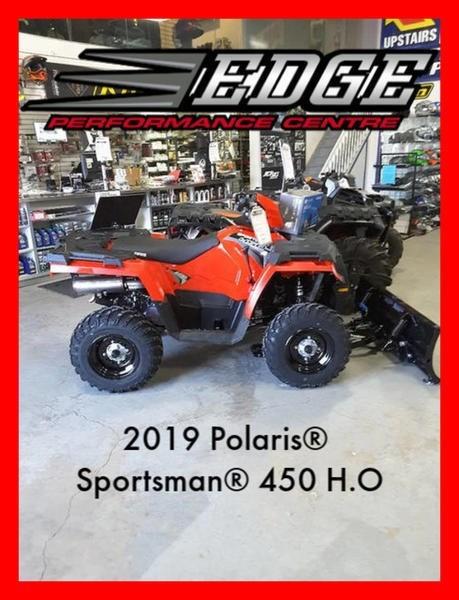 2019 Polaris Sportsman 450 High Output Photo 1 of 5