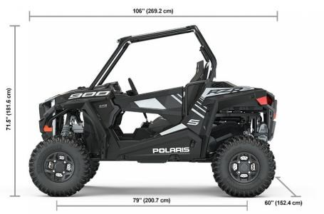 2019 Polaris RZR® S 900 EPS - Black Pearl Photo 2 of 6