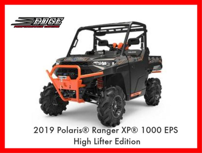 2019 Polaris Ranger XP 1000 EPS High Lifter Edition Photo 1 of 3