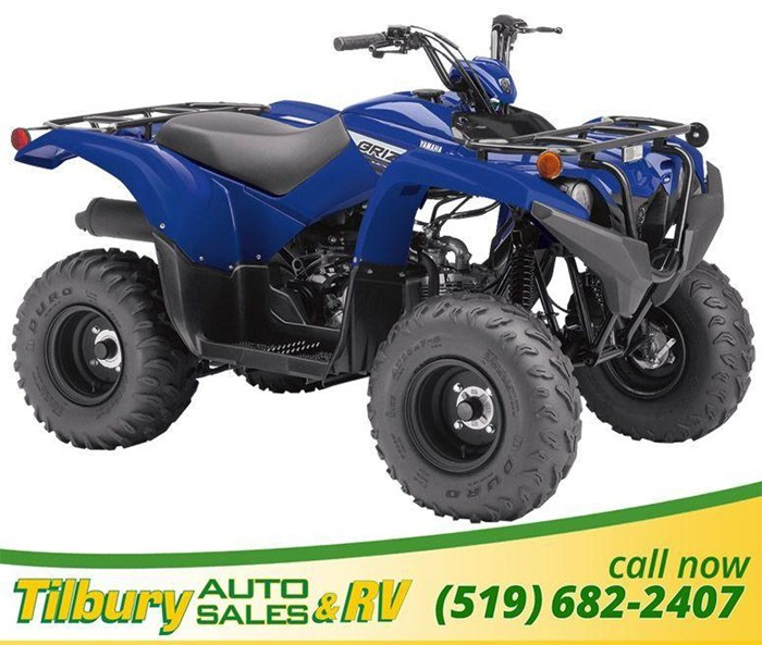 2019 Yamaha Grizzly 90 Photo 3 sur 9