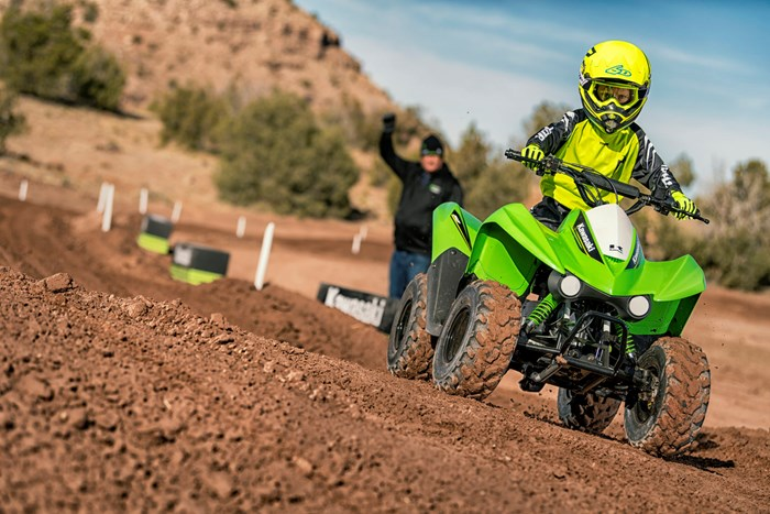 2019 Kawasaki KFX50 Photo 1 of 8