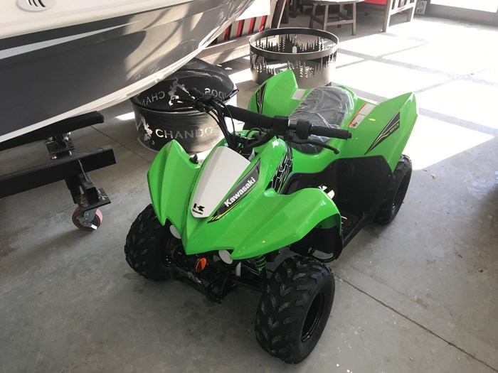 2019 Kawasaki KFX50 Photo 4 of 8