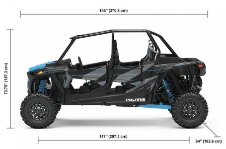 2019 Polaris RZR XP® 4 Turbo - Titanium Metallic Photo 2 of 10