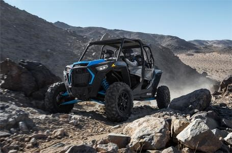 2019 Polaris RZR XP® 4 Turbo - Titanium Metallic Photo 4 of 10