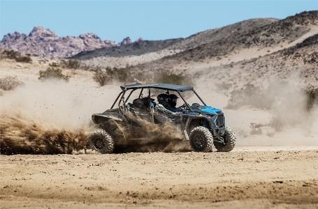 2019 Polaris RZR XP® 4 Turbo - Titanium Metallic Photo 6 of 10