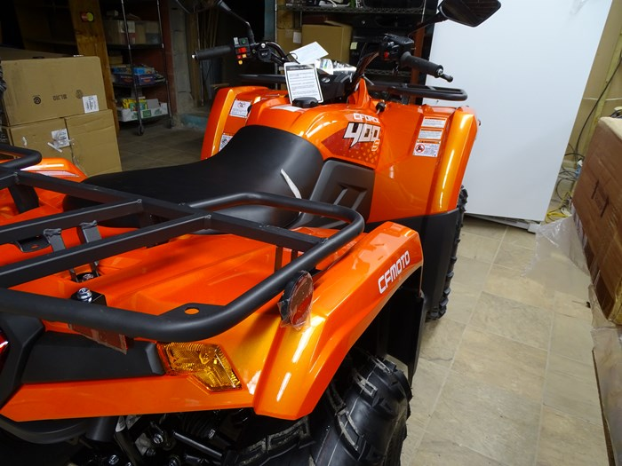 2019 CFMOTO C-Force 400 HO with RUGGED EDITION Photo 2 of 8