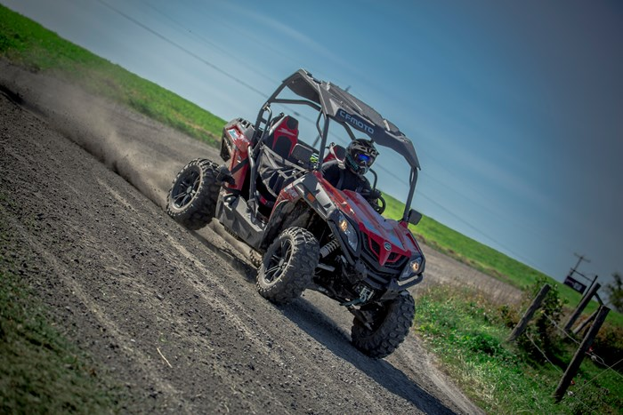 2019 CFMOTO Z-Force 500 HO EPS LX with RUGGED EDITION kit Photo 2 sur 3