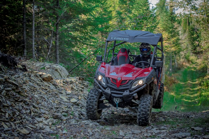 2019 CFMOTO Z-Force 500 HO EPS LX with RUGGED EDITION kit Photo 1 sur 3