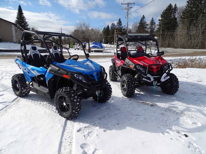 2019 CFMOTO Z-Force 800 EPS LX Trail with SENTINAL KIT Photo 1 of 9