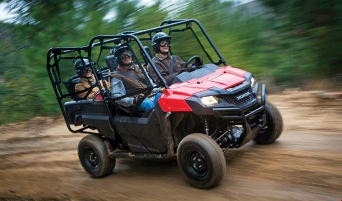 2019 Honda PIONEER 700 4 DELUXE CLOSE RANGE CAMO 2 Photo 2 of 10