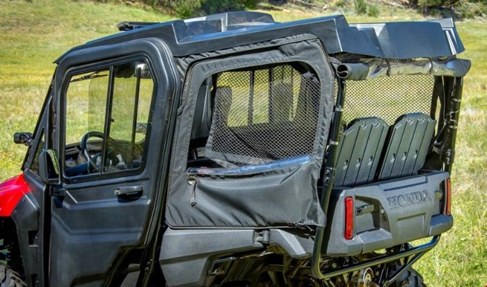 2019 Honda PIONEER 700 4 DELUXE CLOSE RANGE CAMO 2 Photo 8 of 10