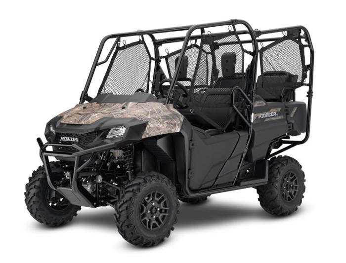 2019 Honda PIONEER 700 4 DELUXE CLOSE RANGE CAMO 2 Photo 1 of 10