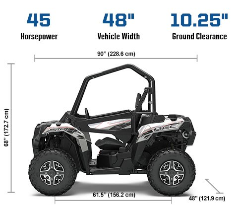 2019 Polaris ACE 570 EPS GRAY Photo 2 of 5