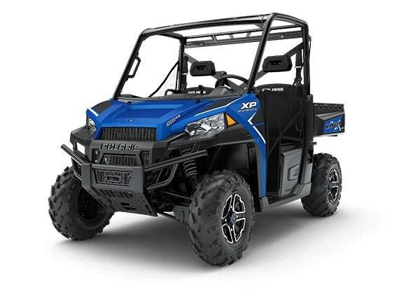 2018 Polaris RANGER XP 900 EPS RADAR BLUE Photo 1 of 7
