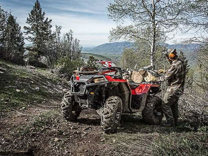 2018 Polaris SPORTSMAN 850 SP SUNSET RED Photo 4 of 7