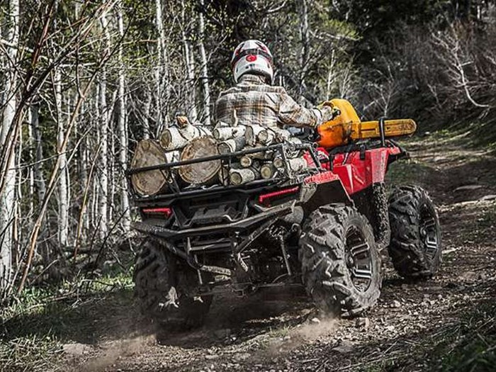 2018 Polaris SPORTSMAN 850 SP SUNSET RED Photo 5 of 7