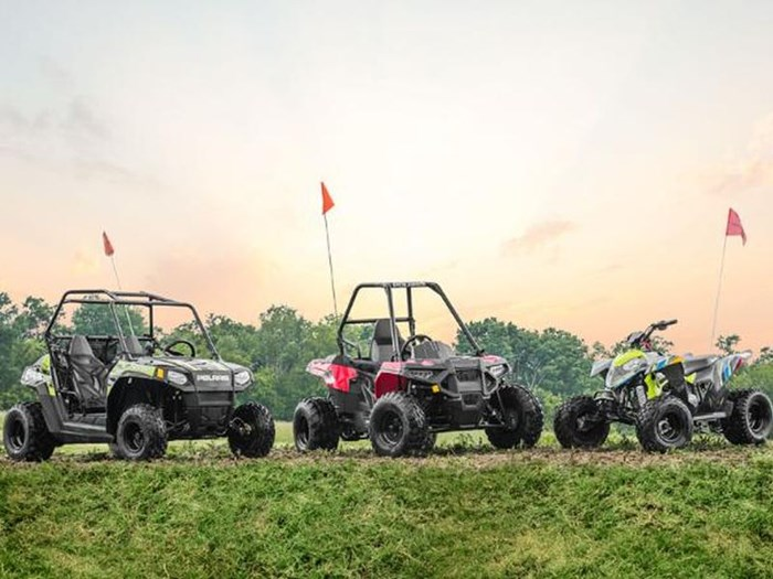 2018 Polaris ACE 150 EFI INDY RED Photo 3 of 3