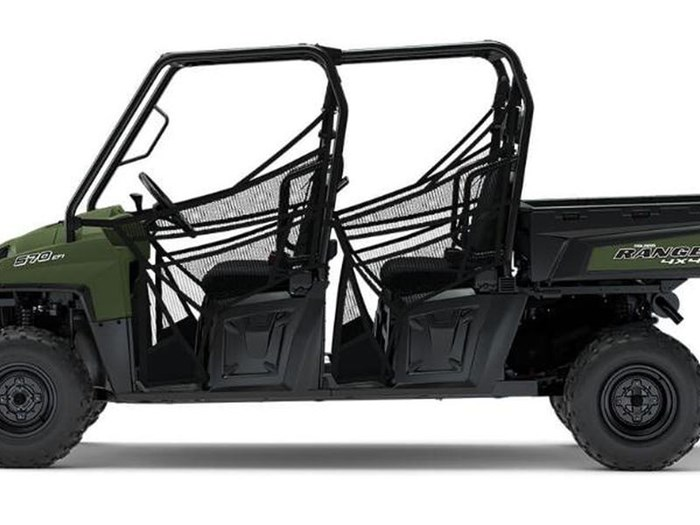 2018 Polaris RANGER CREW 570 6 FULL SIZE SAGE GREEN Photo 2 of 4
