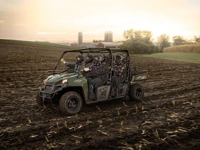 2018 Polaris RANGER CREW 570 6 FULL SIZE SAGE GREEN Photo 3 of 4