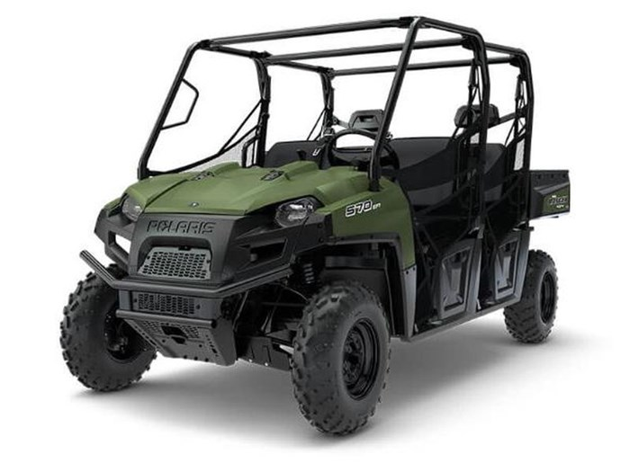 2018 Polaris RANGER CREW 570 6 FULL SIZE SAGE GREEN Photo 1 of 4