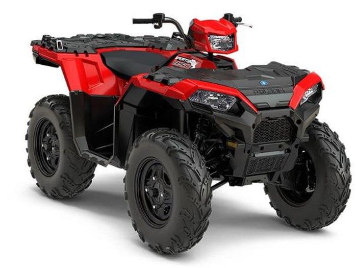 2018 Polaris SPORTSMAN 850 INDY RED Photo 1 of 10
