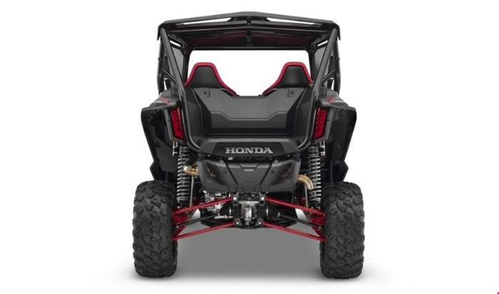 2019 Honda TALON 1000 X 2 PLACES PEARL RED / METALLIC GREY Photo 10 of 12