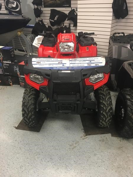 2019 Polaris Sportsman® 450 H.O. EPS Photo 1 of 6