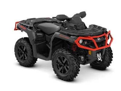 2019 Can-Am Outlander™ XT™ 850 Black & Can-Am Red Photo 1 of 1