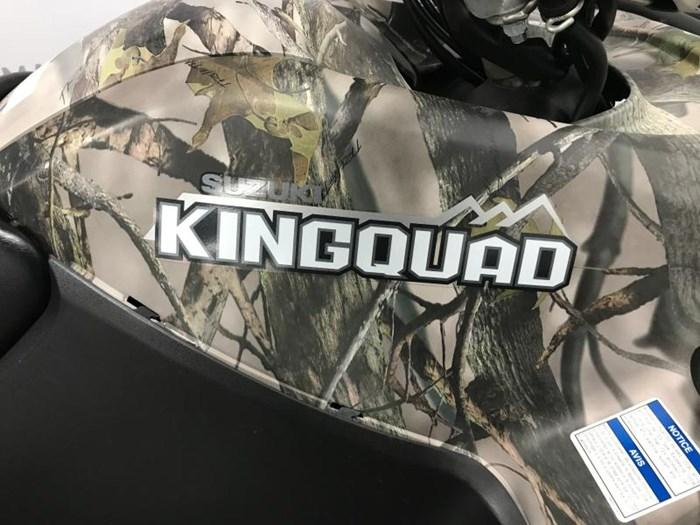 2014 SUZUKI KING QUAD 500 EPS avec kit chenilles Photo 7 of 13