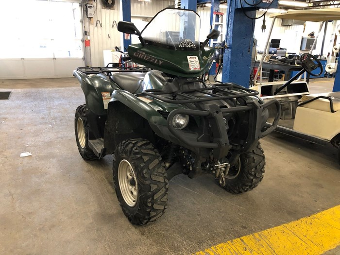 2011 Yamaha Grizzly 550 EPS Photo 1 sur 4