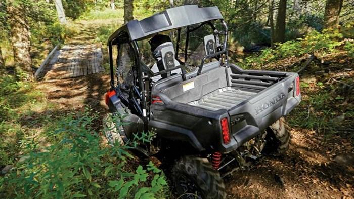 2020 Honda Pioneer 700-2 Deluxe Argent métallisé Mat Sirius Photo 1 of 1