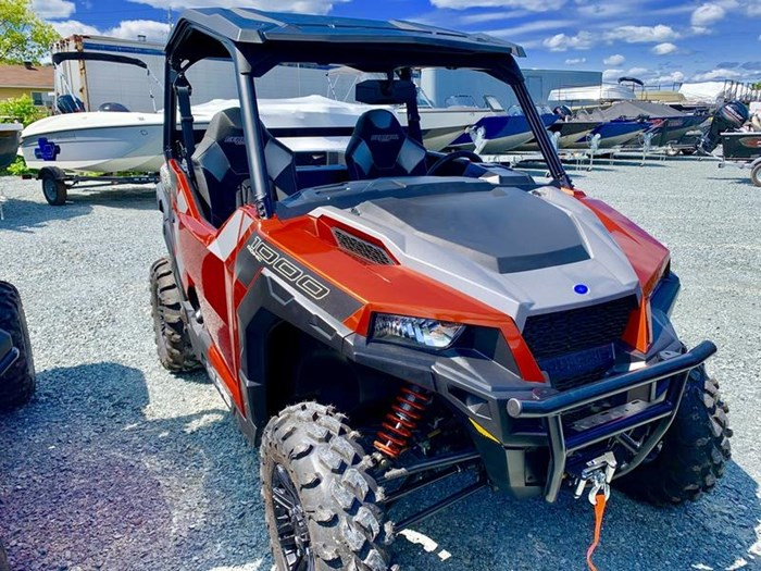 2019 Polaris General® 1000 EPS Deluxe Orange Rust Photo 10 of 15