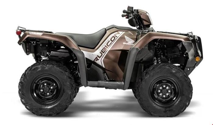 2020 Honda Rubicon 520 IRS EPS Brun mélasse mat métallique Photo 1 sur 5