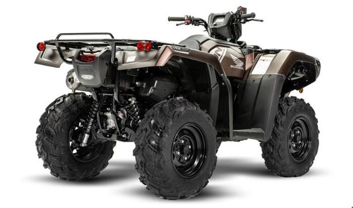 2020 Honda Rubicon 520 IRS EPS Brun mélasse mat métallique Photo 3 sur 5