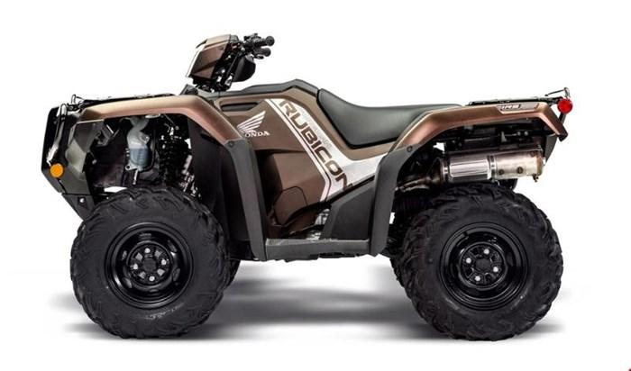2020 Honda Rubicon 520 IRS EPS Brun mélasse mat métallique Photo 4 sur 5