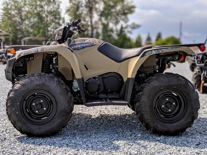 2018 Yamaha Kodiak 450 EPS Beige with camo graphics Photo 3 of 11