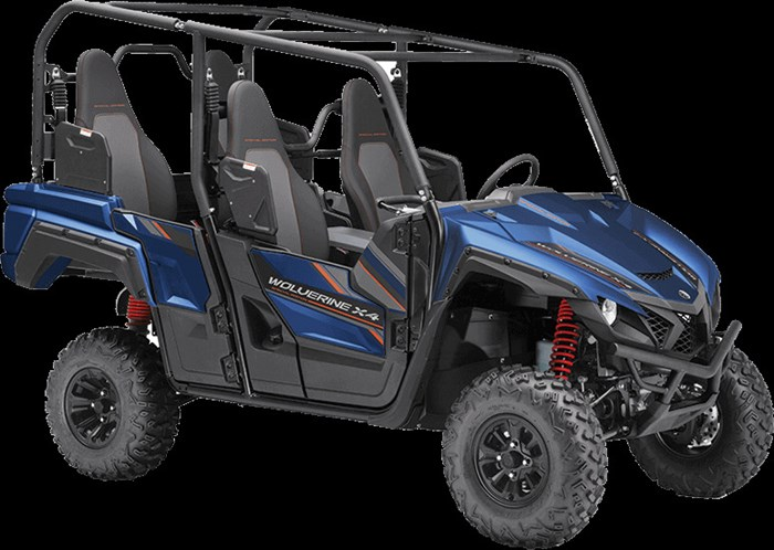 2019 Yamaha Wolverine X4 EPS SE Photo 2 of 2