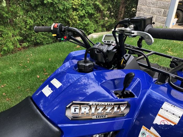 2013 Yamaha Grizzly 300 Photo 5 of 6