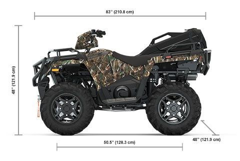 2020 Polaris Sportsman 570 Hunter Edition Polaris Pursuit Camo Photo 2 of 8
