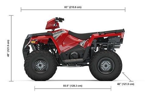 2020 Polaris Sportsman 570 EPS Fury Red Photo 2 of 8