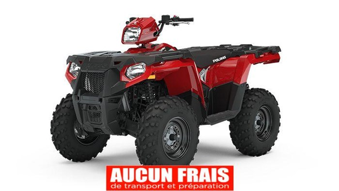 2020 Polaris Sportsman 570 EPS Fury Red Photo 1 of 8